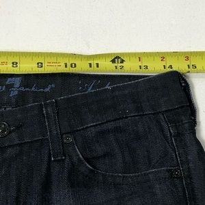 7 For All Mankind Jeans - Women's Size 26 7FAM Dark Low Rise Bootcut Jeans